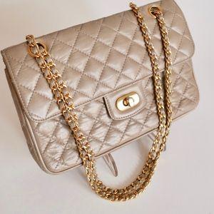 Vintage Taupe KORET Bag in Chanel Tradition